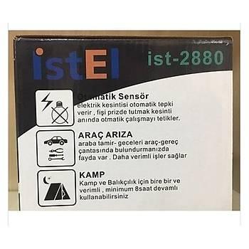 Ýstel Profesyönel Kamp Feneri Çok Amaçlý Led Fener Ýst-2880