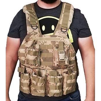 Lider Army Jandarma Taktik Balistik Operasyon Hücum Yeleði Kamuflaj