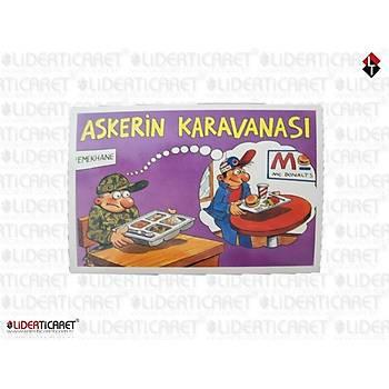 Nostaljik Asker Kartpostalý 4
