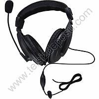 J-Tech Aselsan 4411 Pilot Mikrofonlu VOX Aselsan Telsiz Kulaklýk Seti 353-44A