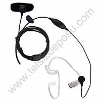 J-Tech HYT TC320 Parmak PTT ve Akustik Kulaklýk VOX Mikrofon 155V-M6H