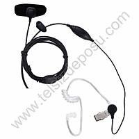 J-Tech Motorola Cp040 Parmak PTT ve Akustik Kulaklýk VOX Mikrofon 155V-M1
