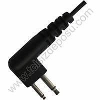 J-Tech Motorola CP040 Çift Kablolu Kulak Sarmalý Kulaklýk Mikrofon 059-M1