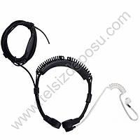 J-Tech Aselsan 4011 Spiralli Gýrtlak Akustik Kulaklýk Mikrofon VOX 176V-S1A