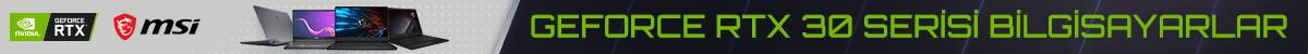 MSI Geforce RTX 30 Bilgisayarlar