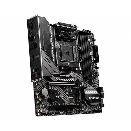 MSI MAG B550M MORTAR DDR4 4400MHz (OC) HDMI DP TYPE-C M.2 mATX AM4