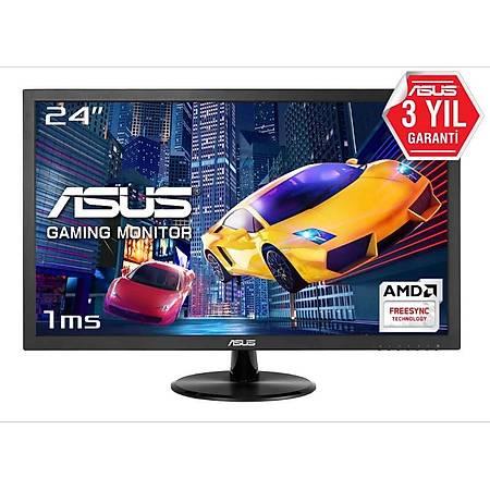 ASUS 24 VP248H Gaming 1920x1080 75Hz DVI HDMI MM 1ms Vesa Siyah