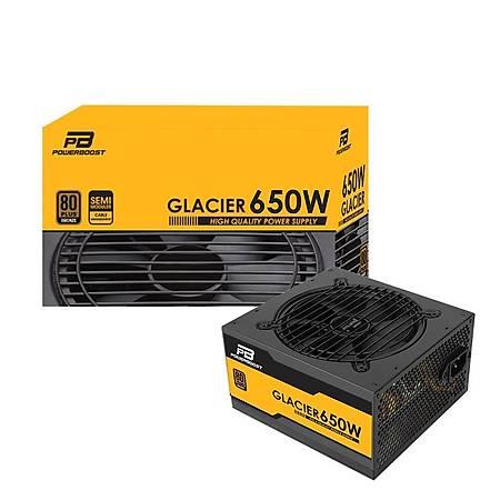 PowerBoost Glacier 650W 80+ Bronze 12cm Fanlý Power Supply