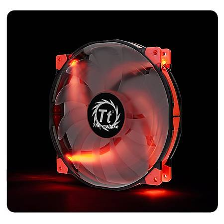 Thermaltake Luna 200mm Kýrmýzý Led Sessiz Fan