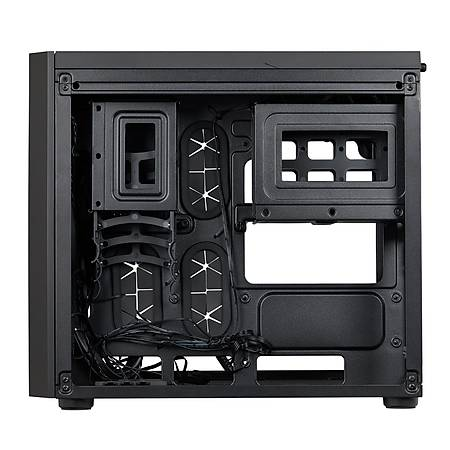 Corsair Crystal 280X RGB Temperli Cam Siyah mATX Kasa PSU Yok