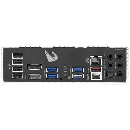 GIGABYTE B550M AORUS PRO Wi-Fi DDR4 4400MHz (OC) HDMI DP TYPE-C M.2 USB 3.2 mATX AM4