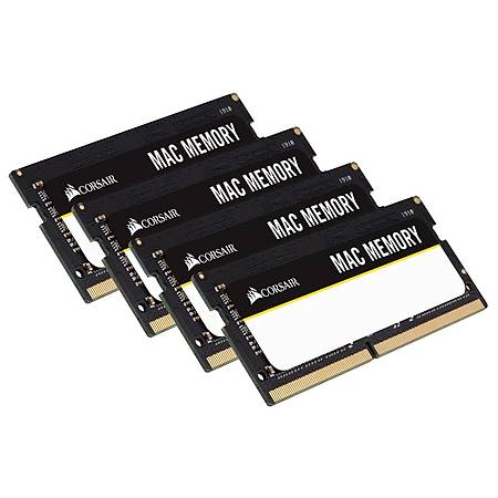 Corsair Mac 64GB (4x16GB) DDR4 2666MHz CL18 Ram