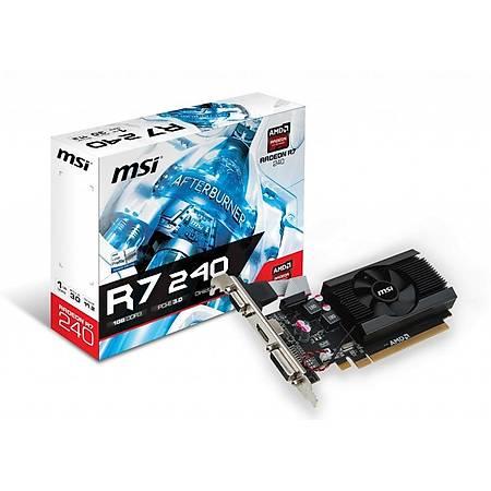 MSI R7 240 1GD3 LP 1GB 64Bit DDR3