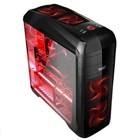 Power Boost VK-G1009B 500W Pencereli Gaming Kasa