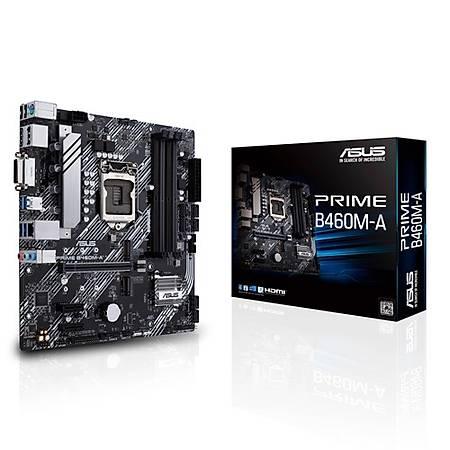 ASUS PRIME B460M-A DDR4 2933MHz DVI HDMI DP M.2 mATX 1200p