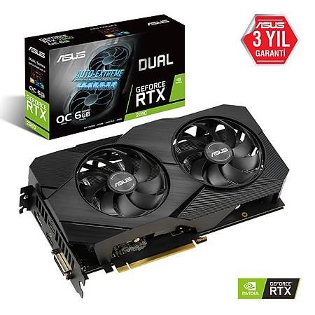 ASUS Dual GeForce RTX 2060 6G OC EVO Edition 192Bit GDDR6