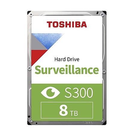 Toshiba S300 3.5 8TB 7200Rpm 256Mb Sata 3 Güvenlik Diski HDWT380UZSVA