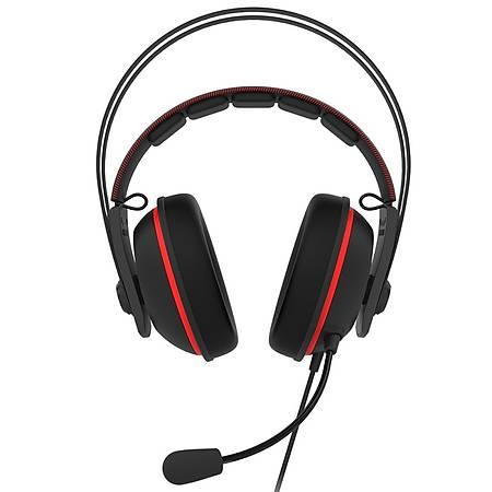 Asus TUF Gaming H7 Red 7.1 Gaming Kulaklýk