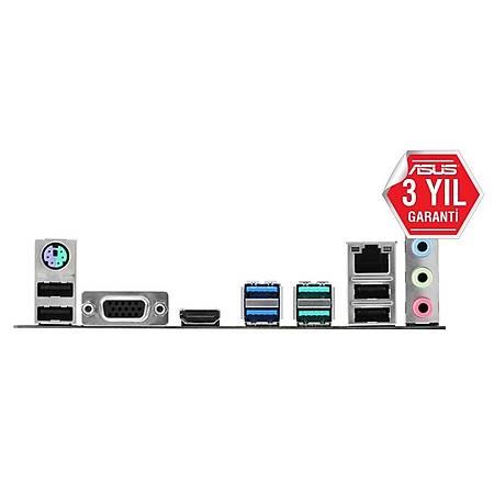ASUS TUF B360-PLUS GAMING DDR4 2666MHz VGA HDMI M.2 RGB ATX 1151p