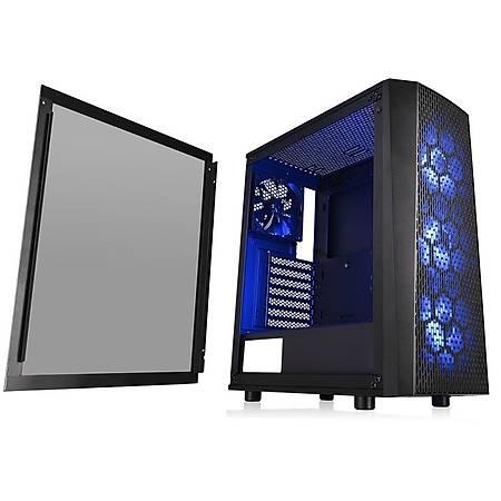 Thermaltake Versa J24 650W 80+ Tempered Pencereli RGB 3x120mm Fanlý Mesh Panel Oyuncu Kasasý
