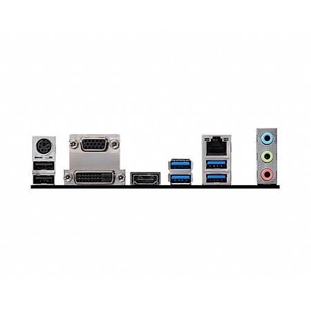 MSI B460M PRO-VDH DDR4 2933MHz VGA DVI HDMI USB 3.1 mATX 1200p