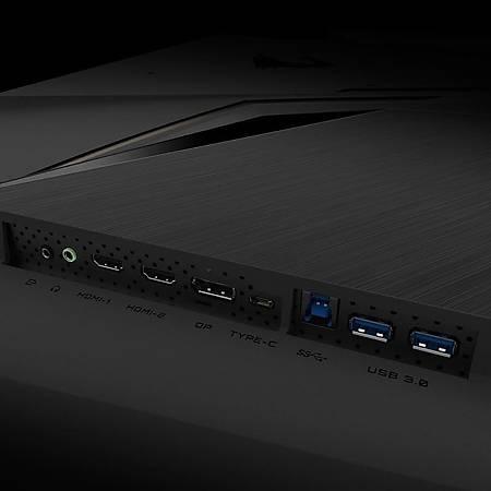 Gigabyte AORUS FV43U 43 3840x2160 144Hz 1ms HDMI DP Type-C HDR10 Led Monitör