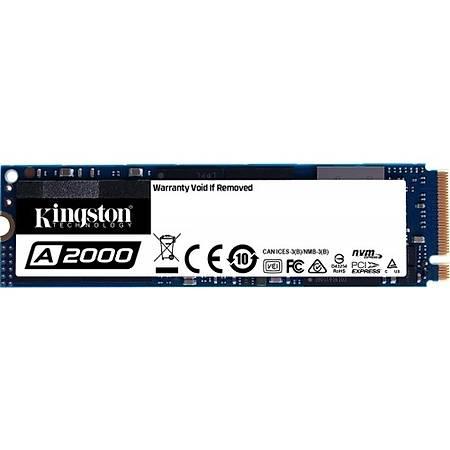 Kingston A2000 250GB NVMe M.2 SSD Disk SA2000M8/250G