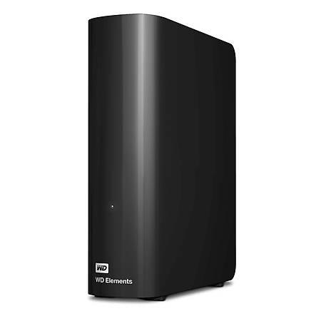 WD Elements 3.5 8TB USB 3.0 Siyah Tasinabilir Disk WDBWLG0080HBK
