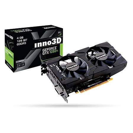 Inno3D GeForce GTX 1050 Ti Twin x2 4GB 128Bit GDDR5
