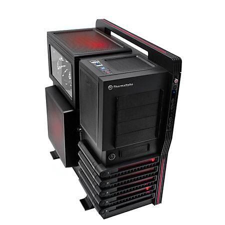 Thermaltake Level 10 GT Full-Tower Gaming Kasa Siyah PSU Yok