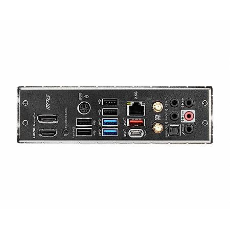 MSI MPG B550 GAMING PRO CARBON DDR4 4866MHz (OC) M.2 ATX Wi-Fi AM4