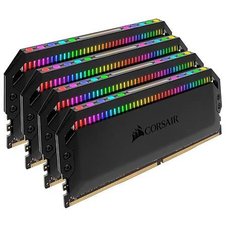 Corsair Dominator Platinum Rgb 32GB (4x8GB) DDR4 3600MHz CL18 Siyah Soðutuculu Ram