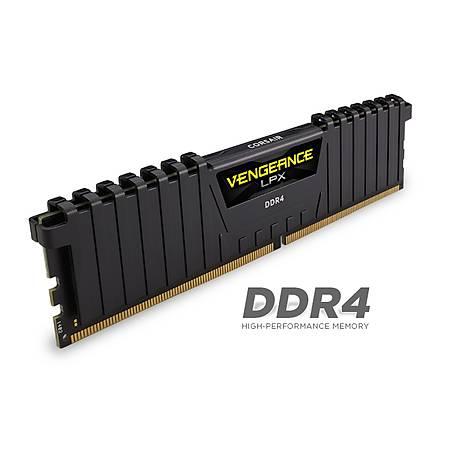 Corsair Vengeance LPX 8GB DDR4 3000MHz CL16 Siyah Ram