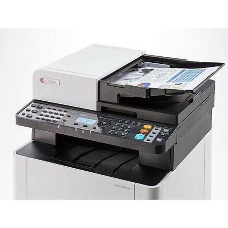 Kyocera M5521cdw Fotokopi Tarayýcý Fax Lazer Yazýcý