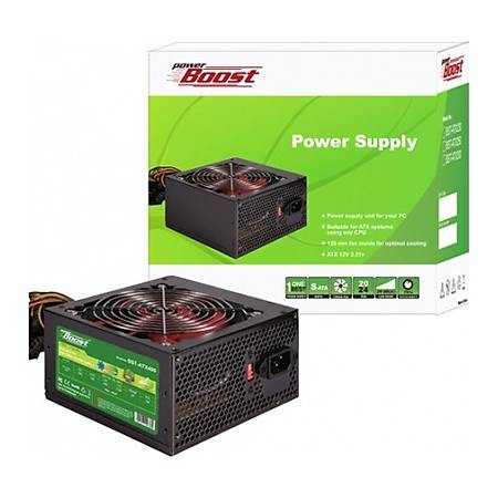 Power Boost BST-ATX400R 400W 12cm Siyah Fan Power Supply