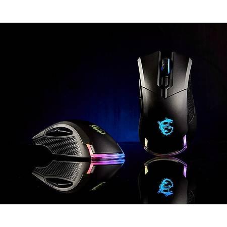 MSI Clutch GM50 Optik Usb Siyah Oyuncu Mouse