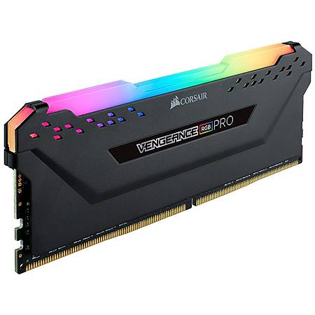 Corsair Vengeance Rgb Pro 32GB (4x8GB) DDR4 3600MHz CL18 Siyah Ram