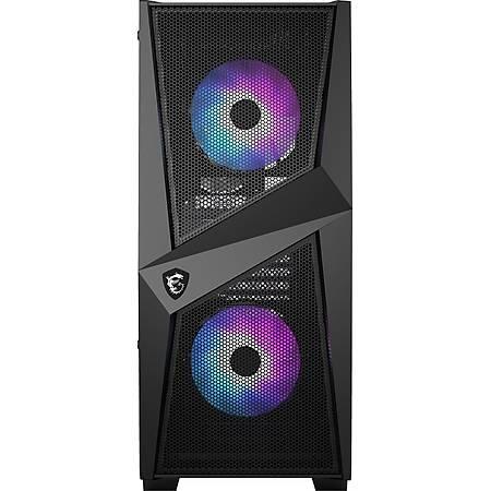 MSI MPG GUNGNIR 110R 3xA-Rgb 120mm Fan Temperli Cam ATX Gaming Bilgisayar Kasasý PSU Yok