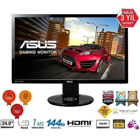 ASUS 24 VG248QE 1920x1080 144Hz DVI-D Hdmý Dp 1ms Gaming Monitör