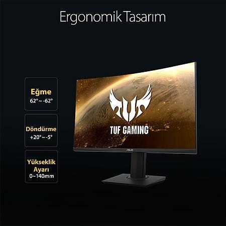 ASUS TUF Gaming 32 VG32VQ 2K 2560x1440 144Hz HDMI DP 1ms MM Curved Gaming Monitör
