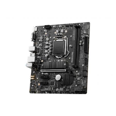 MSI B560M A PRO DDR4 5200MHz (OC) HDMI VGA M.2 USB 3.2 mATX 1200p