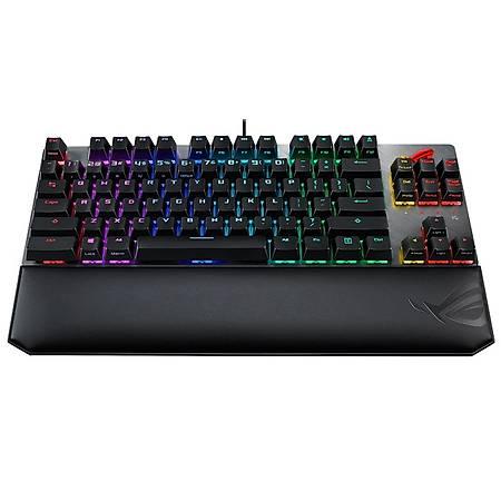 ASUS ROG STRIX Scope TKL Deluxe Cherry MX Red Switch RGB Mekanik Gaming Klayve