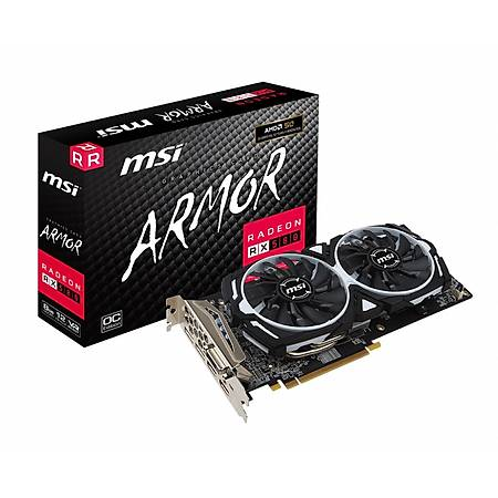 MSI Radeon RX 580 ARMOR 8G OC 8GB 256Bit GDDR5