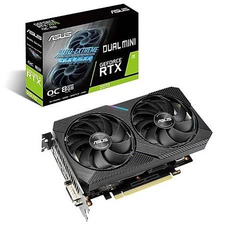ASUS Dual GeForce RTX 2070 8GB MINI 256Bit GDDR6