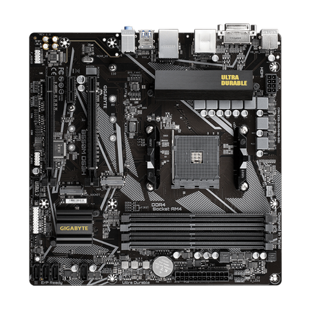 GIGABYTE B550M DS3H DDR4 4400MHz (OC) HDMI DVI-D M.2 USB 3.2 mATX AM4