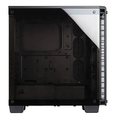 Corsair Crystal Serisi 460X RGB Pencereli Siyah MidTower Kasa PSU Yok