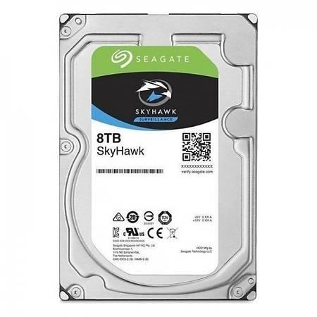 Seagate SkyHawk 3.5 8TB 7200Rpm 256Mb Sata 3 210Mb/s 180TB/Y ST8000VX004