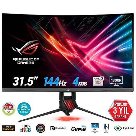 ASUS 31.5 XG32VQR 2K 2560x1440 144Hz HDMI DP mDP 4ms FreeSync Curved Gaming Monitör