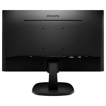 Philips 23.8 243V7QDSB/01 IPS 1920x1080 VGA DVI HDMI Vesa 5ms Siyah