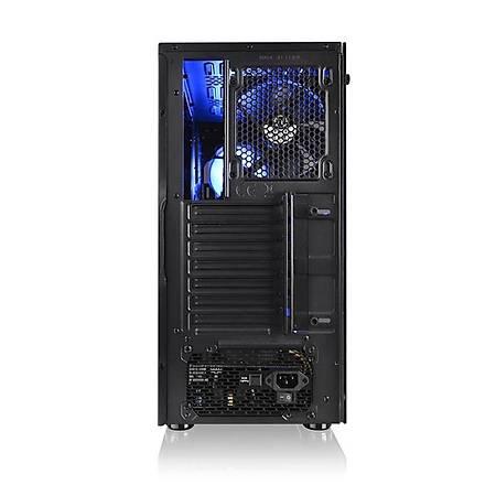 Thermaltake Versa J23 Tempered Pencereli RGB 120mmx3 Fanlý Siyah Mid Tower Gaming Kasa PSU Yok